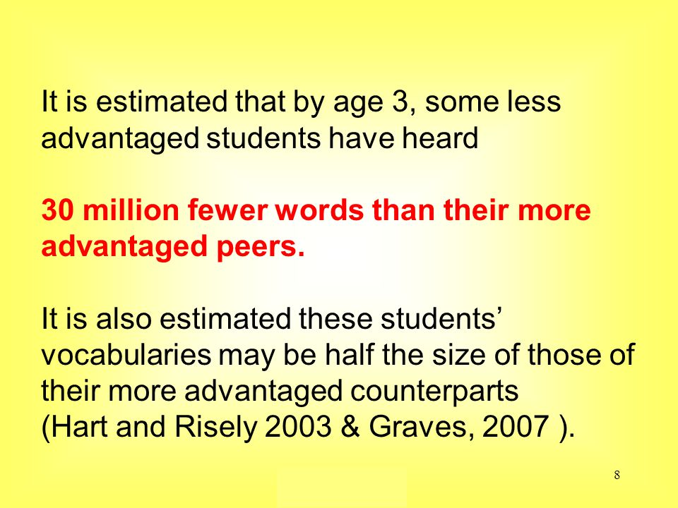 Susan Ebbers 20059 Bet cha' didn't know… In California they determine how many jail cells they will build to house future inmates - by calculating how many children are not reading on grade level by third grade.