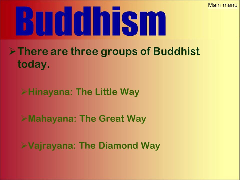 Main menu Buddhism  Buddha did believe in reincarnation.