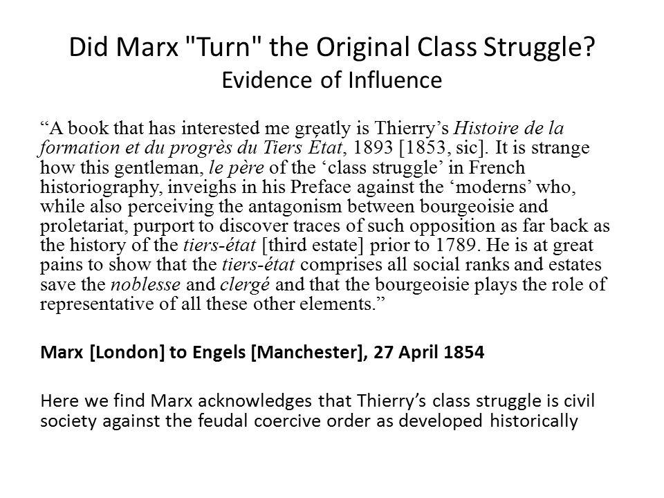 A book that has interested me greatly is Thierry's Histoire de la formation et du progrès du Tiers État, 1893 [1853, sic].