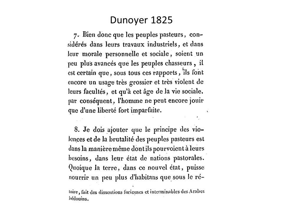 Dunoyer 1825