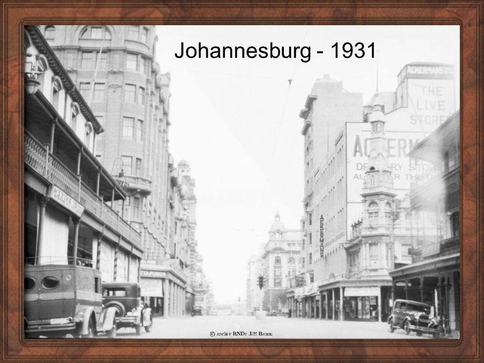 Johannesburg - 1931
