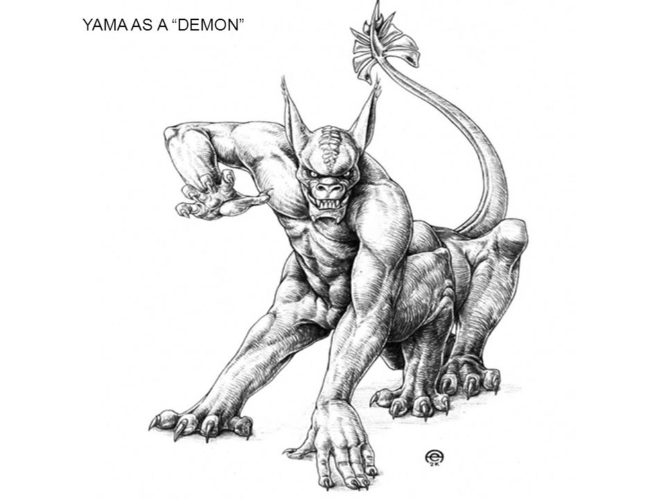 "YAMA AS A ""DEMON"""