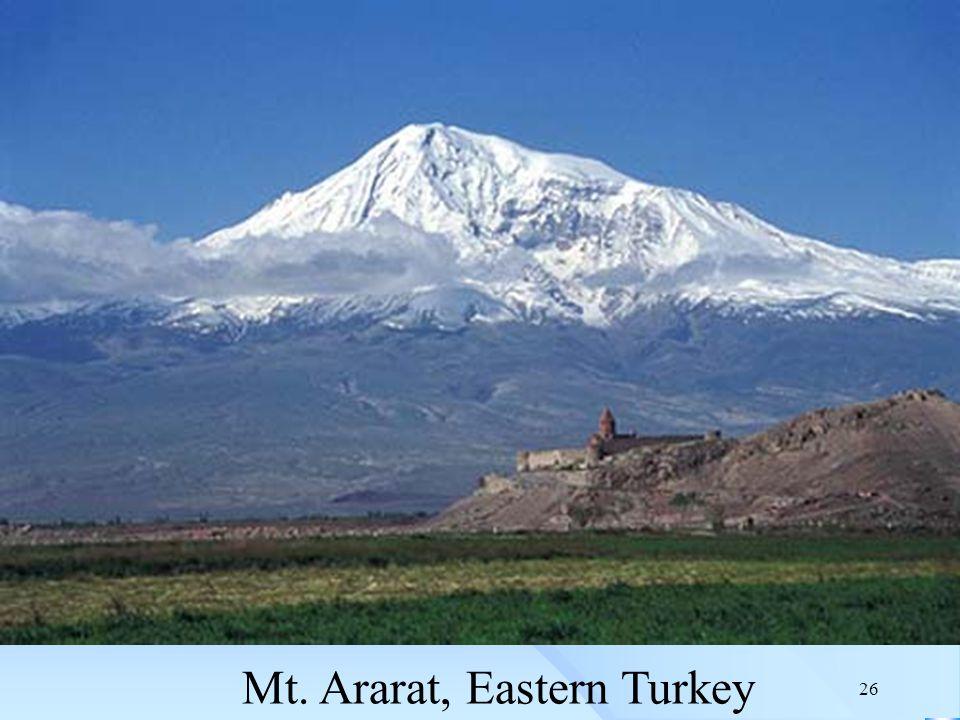 26 Mt. Ararat, Eastern Turkey