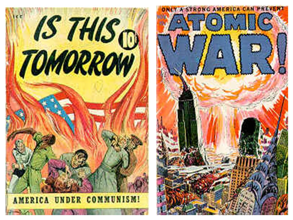 Questions… Why was there a fear of communism and communist subversion after World War II.