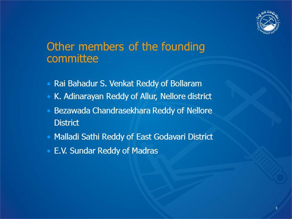 3 Rai Bahadur S. Venkat Reddy of Bollaram K.