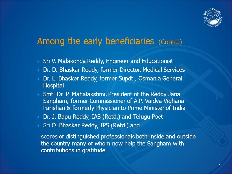 8 Sri V. Malakonda Reddy, Engineer and Educationist Dr.