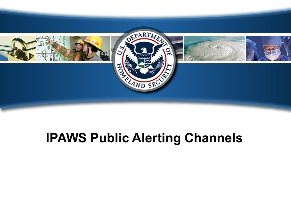 19 How to become an IPAWS user