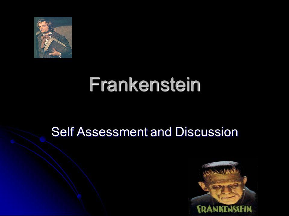 Help with essay question on Frankenstein?