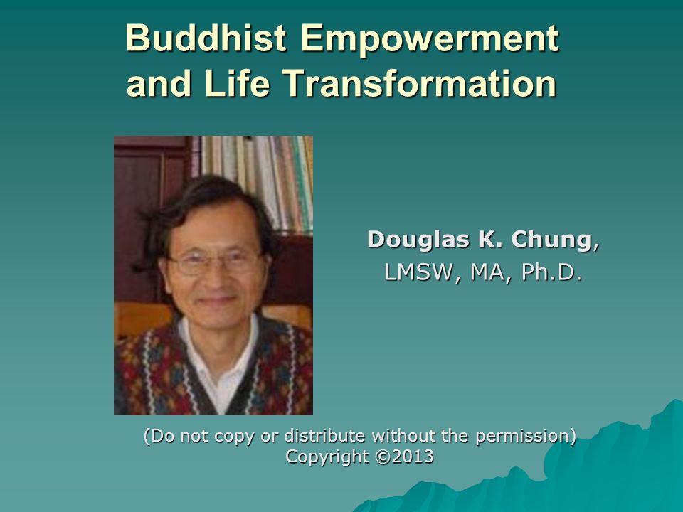 Buddhist Principles of Counseling based on Samsara (10) 28.