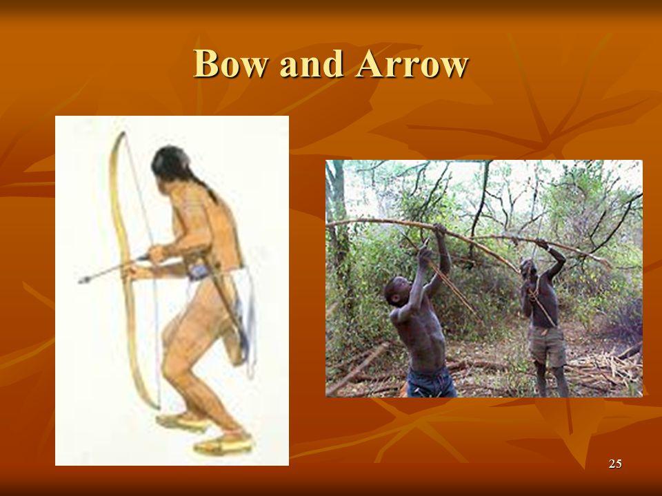 Bow and Arrow 25