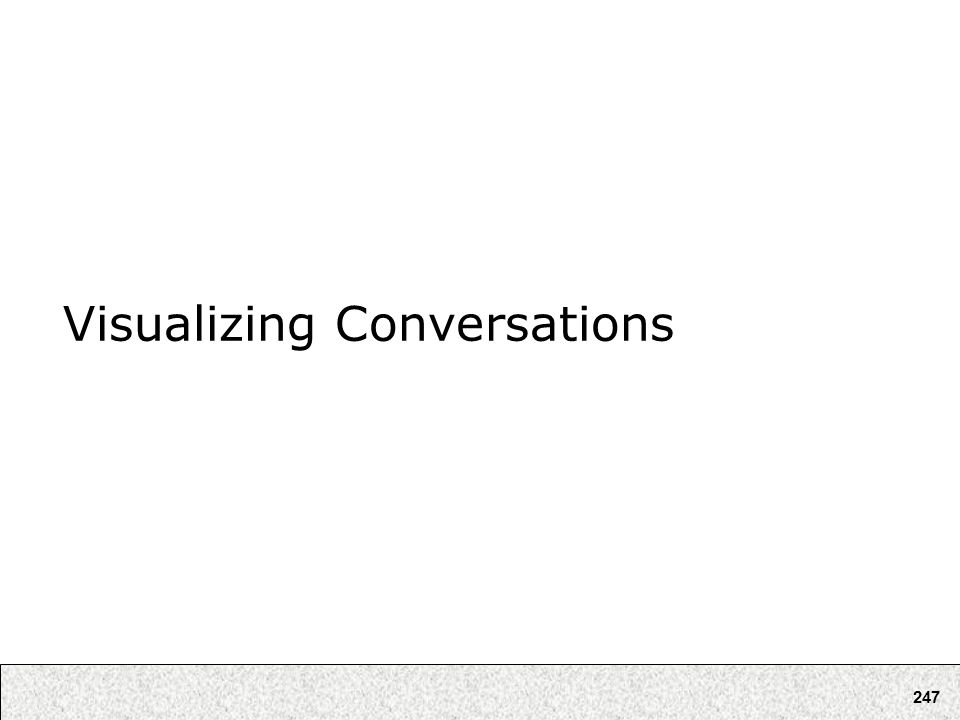 247 Visualizing Conversations