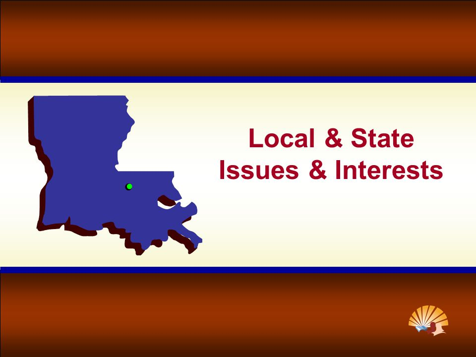 Local & State Issues & Interests