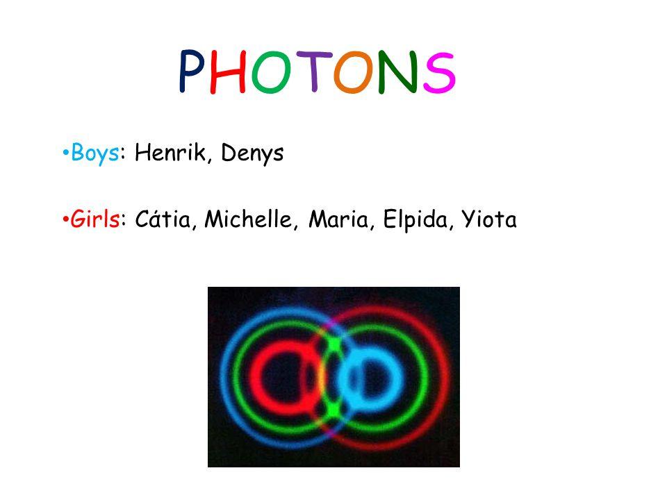 PHOTONSPHOTONS Boys: Henrik, Denys Girls: Cάtia, Michelle, Maria, Elpida, Yiota