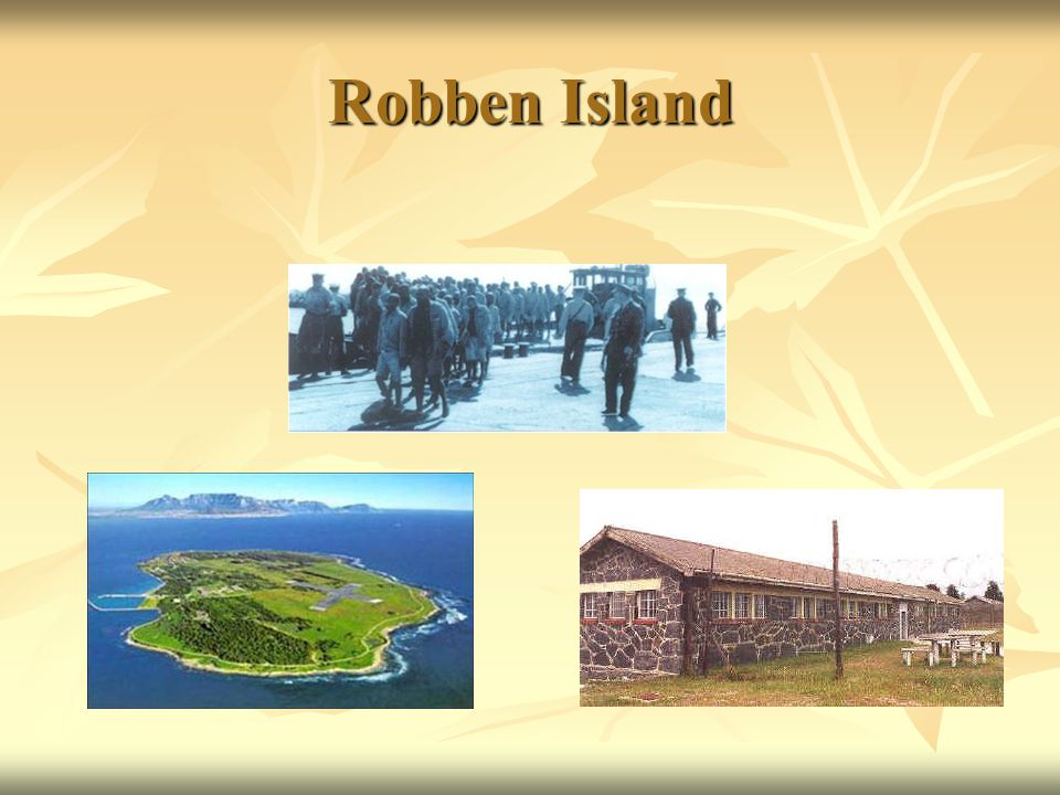 18 Long Years On Robben Island Mandela was treated very badly.