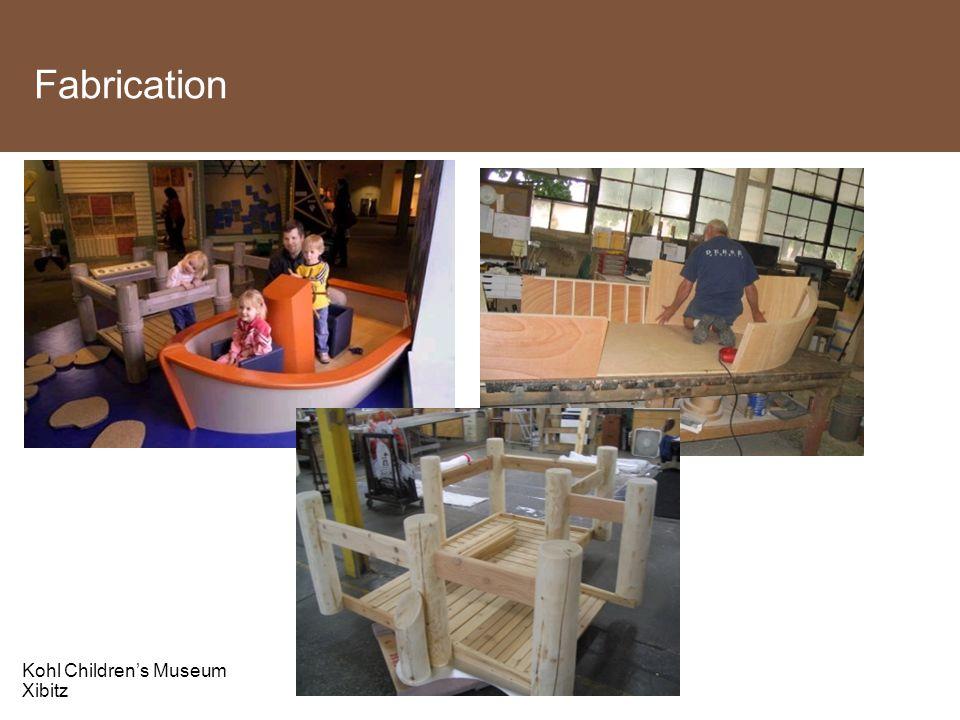 Fabrication Kohl Children's Museum Xibitz