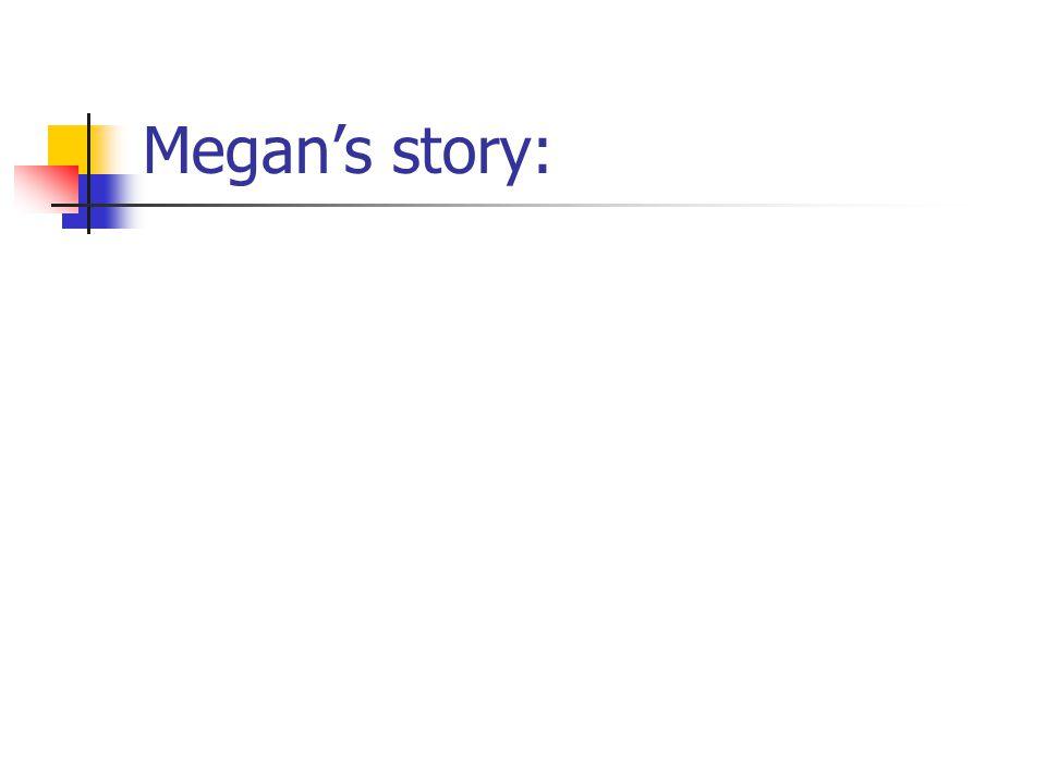 Megan's story: