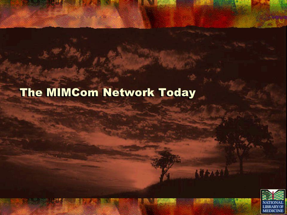 The MIMCom Network Today