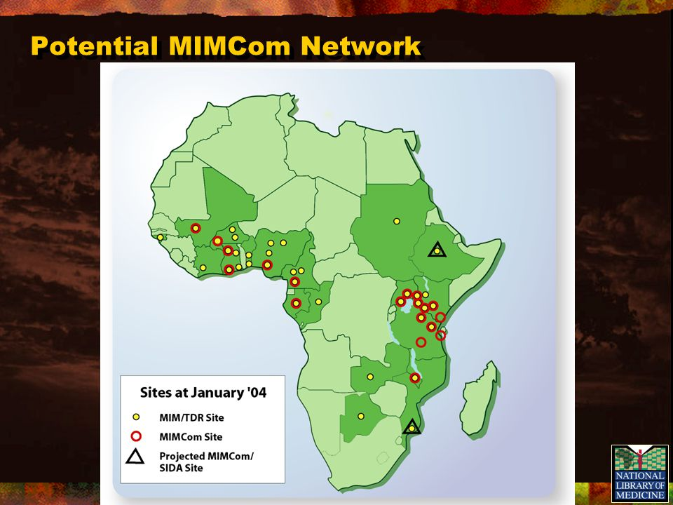 Potential MIMCom Network