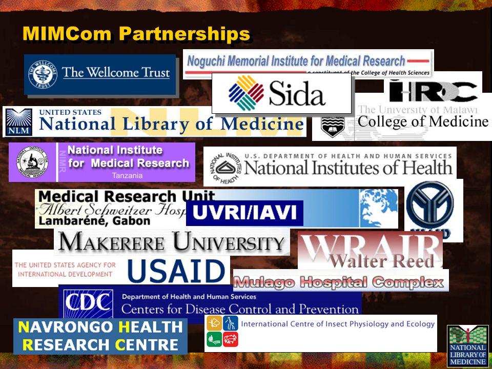 MIMCom Web Site Advisory Committee Abdoulaye Djimde Mali Andrew Githeko Kenya Louis Gouagna Kenya Saadou si.