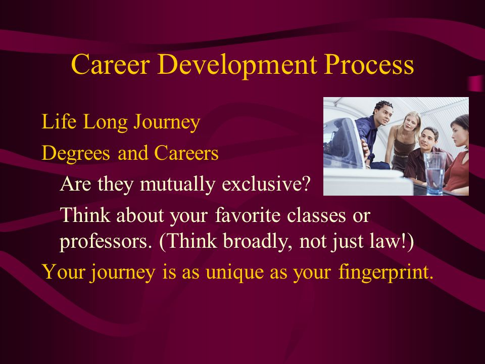 Career Decision Making Myths Something is wrong with me if I don't know what I want yet.