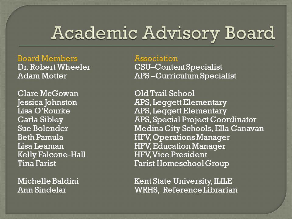Board MembersAssociation Dr.