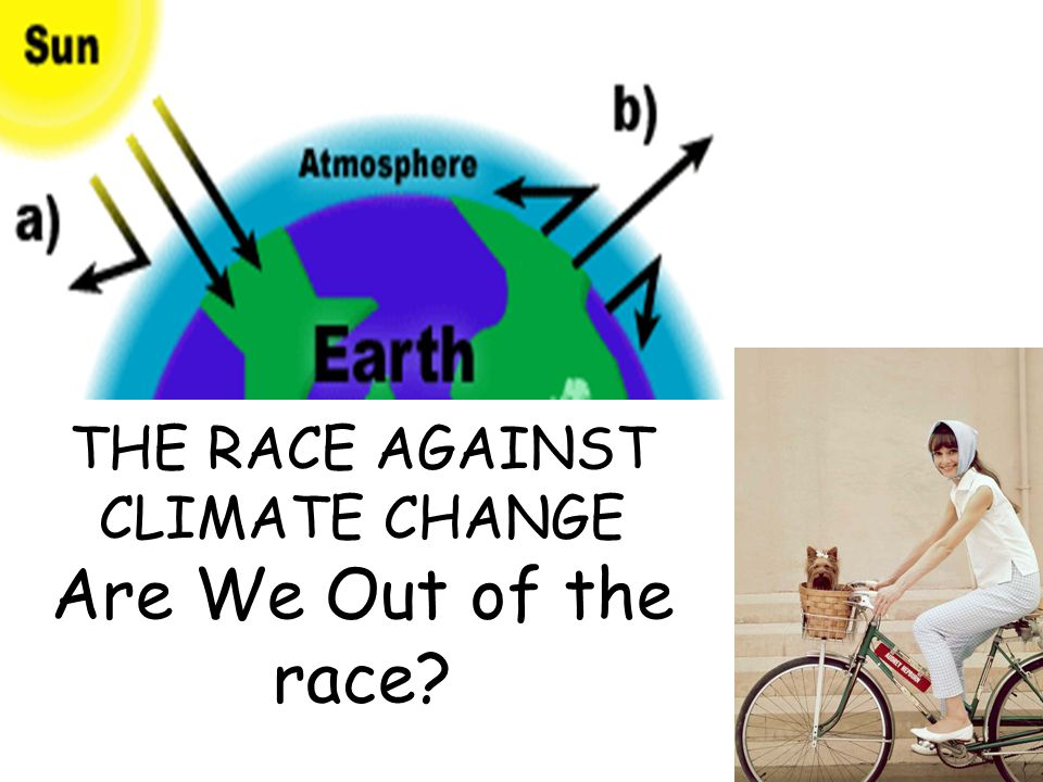 THE RACE AGAINST CLIMATE CHANGE Are We Out of the race