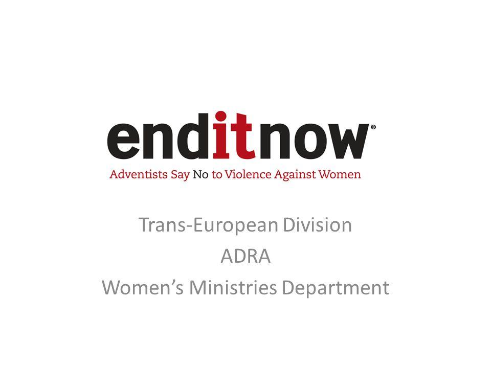 Trans-European Division ADRA Women's Ministries Department