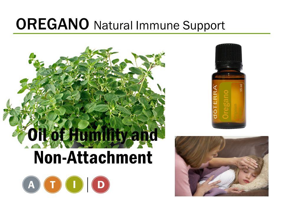 OREGANO Natural Immune Support Oil of Humility and Non-Attachment