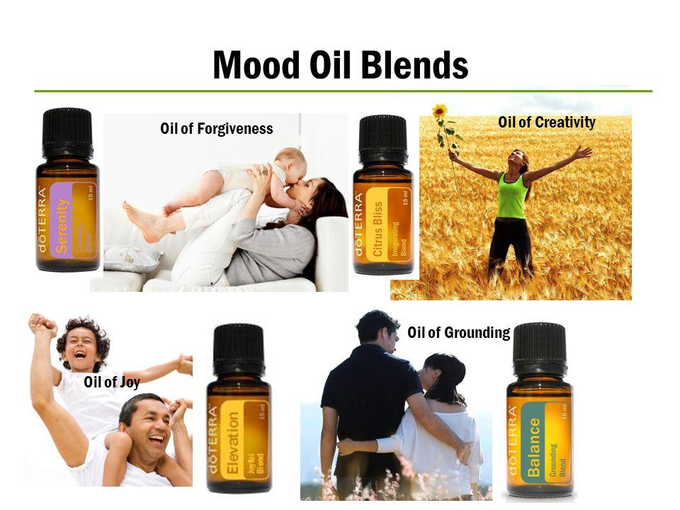 Mood Oil Blends Oil of Joy Oil of Grounding Oil of Creativity Oil of Forgiveness