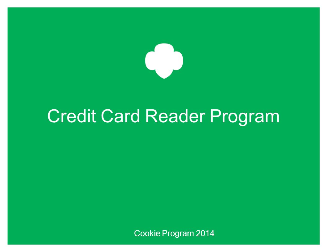Credit Card Reader Program Cookie Program 2014