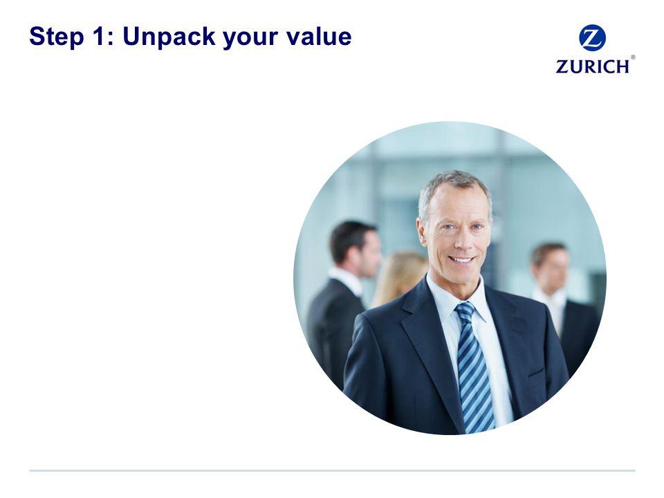 Step 1: Unpack your value