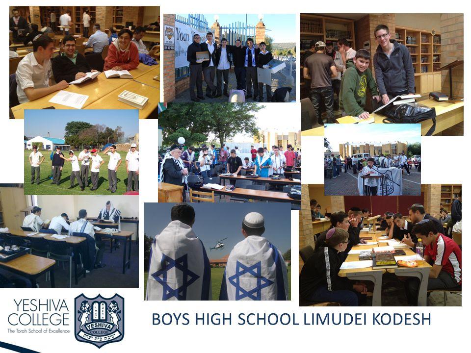 BOYS HIGH SCHOOL LIMUDEI KODESH