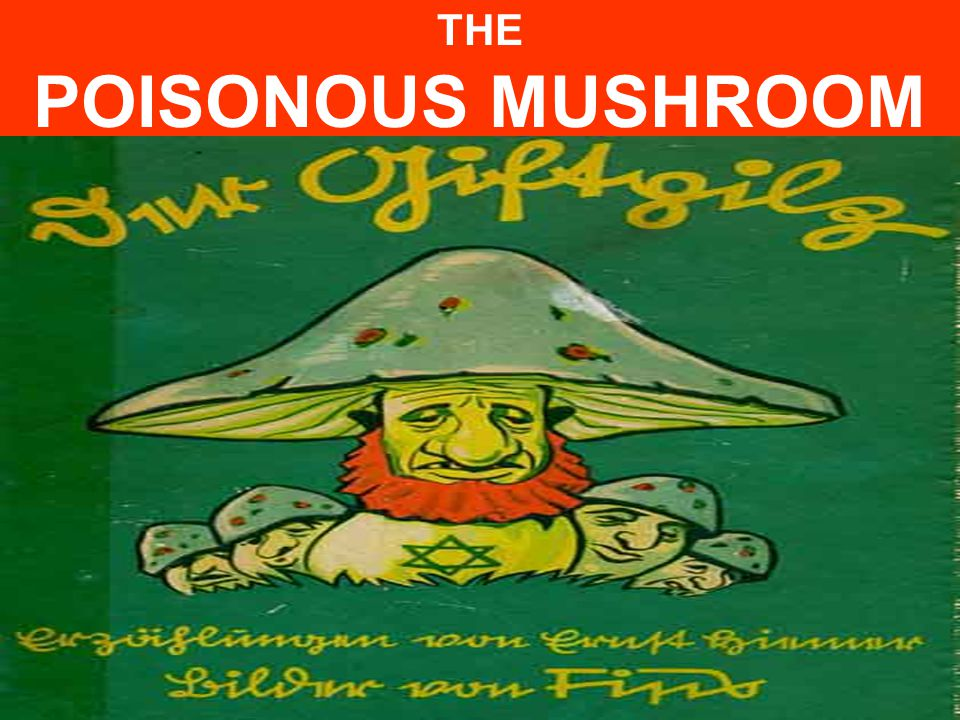 THE POISONOUS MUSHROOM Nazi Propaganda children's book