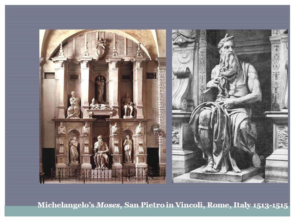 Michelangelo's Moses, San Pietro in Vincoli, Rome, Italy 1513-1515