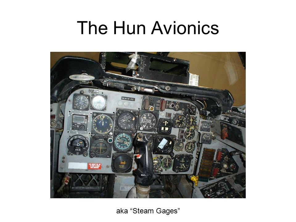 The Hun Avionics aka Steam Gages