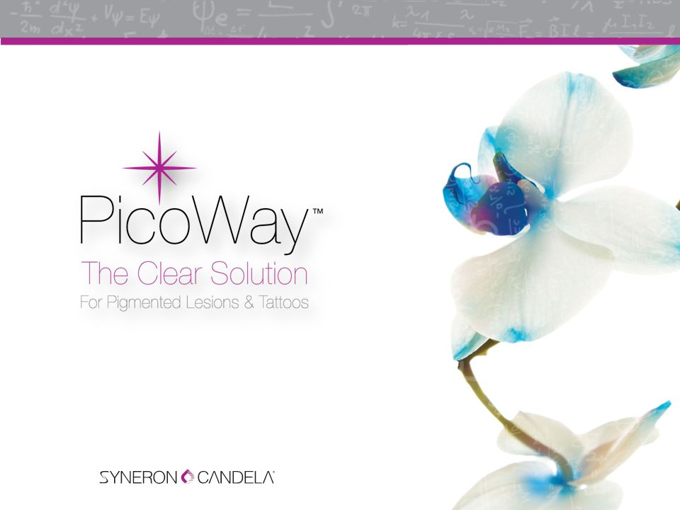 State-of-the-art, proprietary PicoWay Technology 1064 nm 532 nm Up to 0.900 Gigawatts Up to 0.530 Gigawatts 450 ps 375 ps
