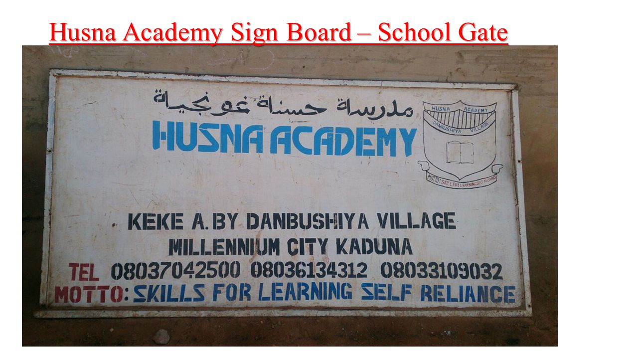 Husna Academy – Constructions going on for further expansion