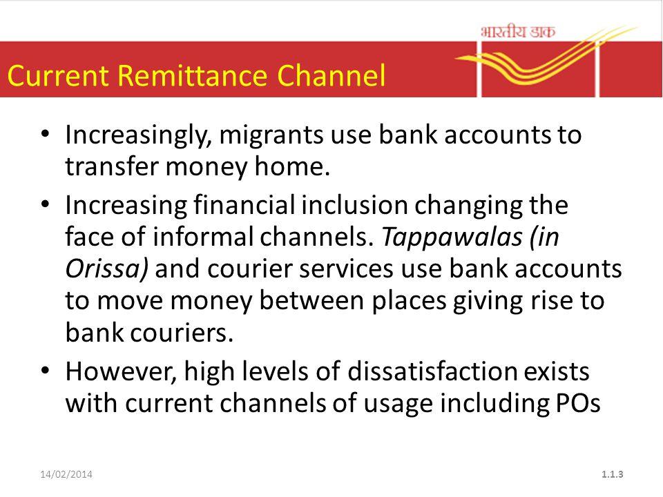 STRATEGY OF MONEY REMITTANCE MARKETING 14/02/201424