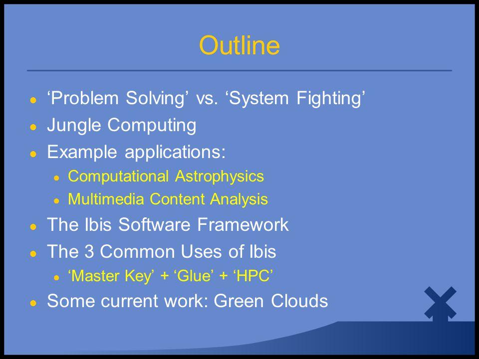 Ibis: 'Problem Solving' vs. 'System Fighting'
