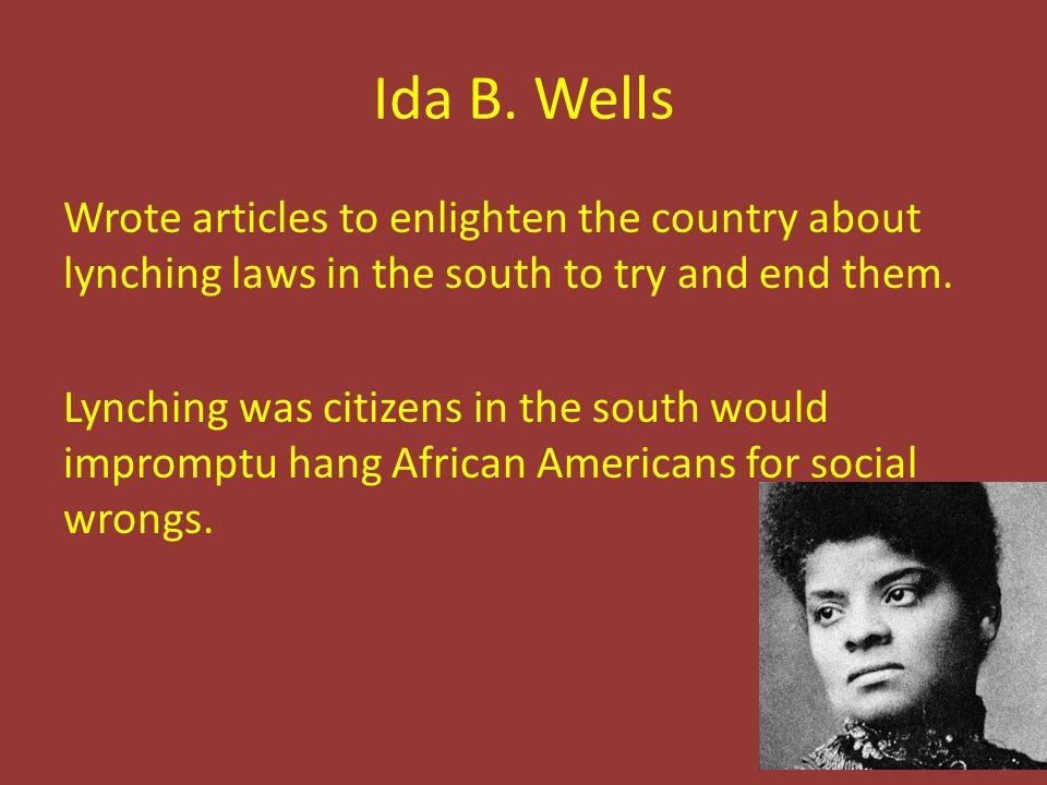 Ida B.