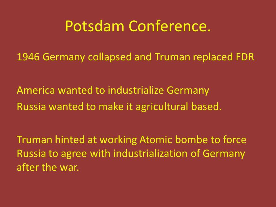 Potsdam Conference.