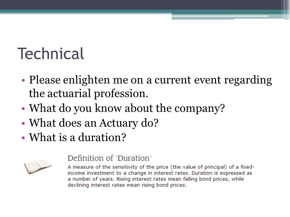 Technical Please enlighten me on a current event regarding the actuarial profession.