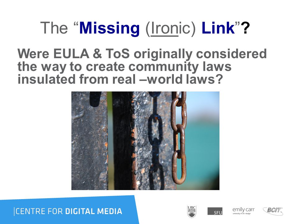 The Missing (Ironic) Link .