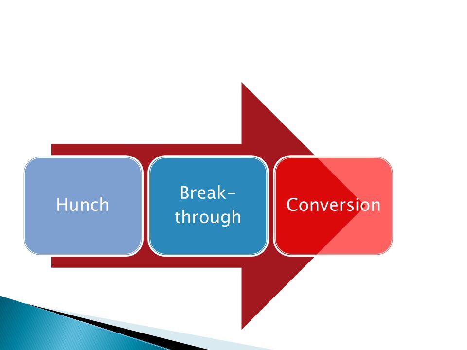 Hunch Break- through Conversion