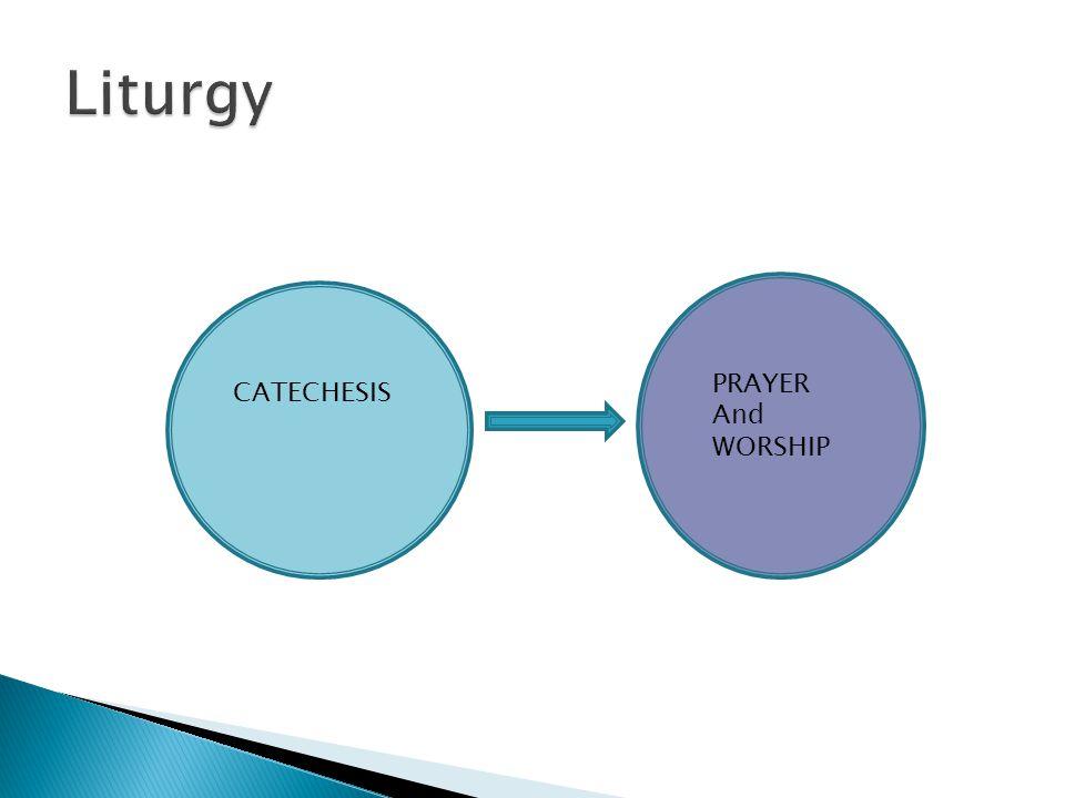 CATECHESIS PRAYER And WORSHIP