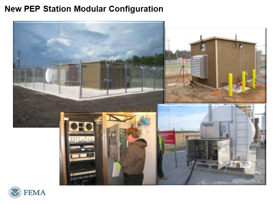 New PEP Station Modular Configuration
