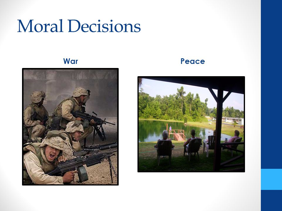 Moral Decisions WarPeace