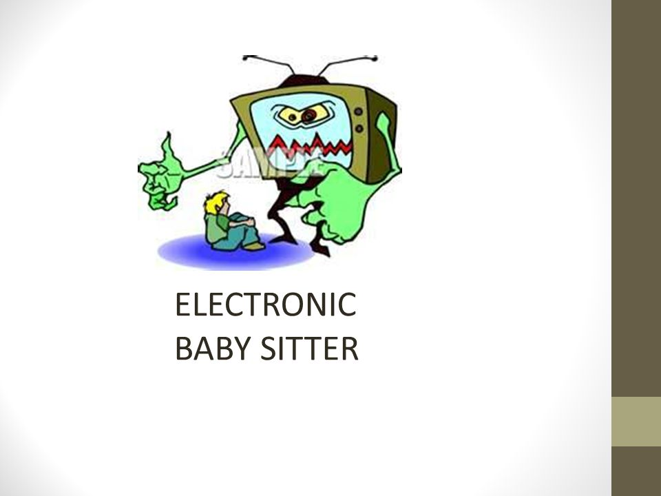 ELECTRONIC BABY SITTER