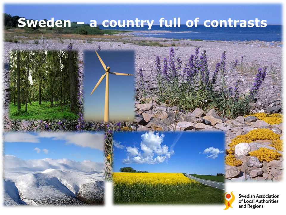 Sweden – a country full of contrasts