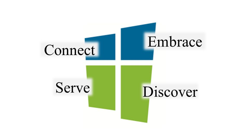 Connect Embrace Serve Discover